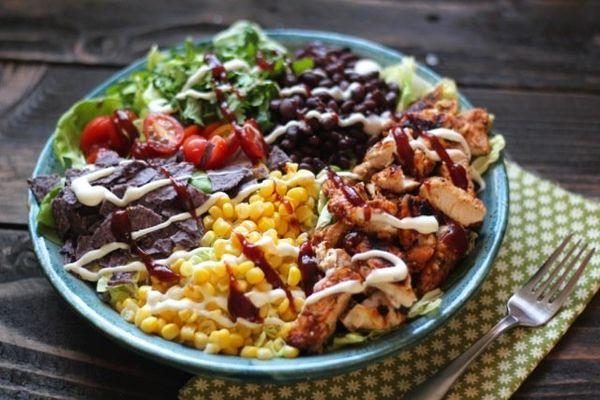 """<strong>Get the <a href=""""http://www.alaskafromscratch.com/2014/05/14/bbq-chicken-chopped-salad/"""" target=""""_blank"""">BBQ Chicken"""