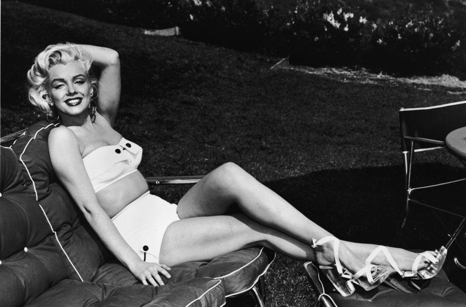 Marilyn Monroe was famous for her enviable figure -- and especially for having curves in all the right places. Apparently, it