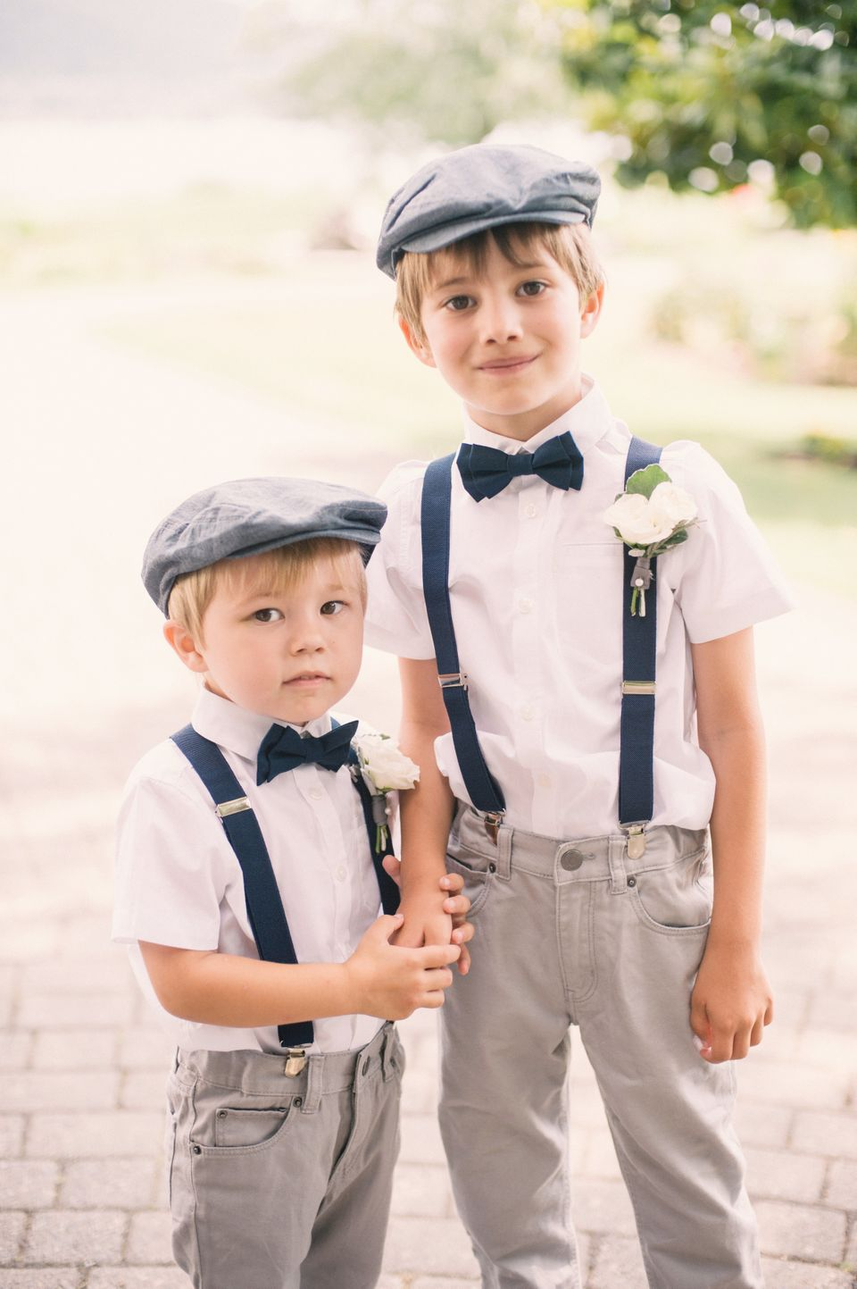 7 Adorably Stylish Ring Bearer Outfits That Are Tough Acts To