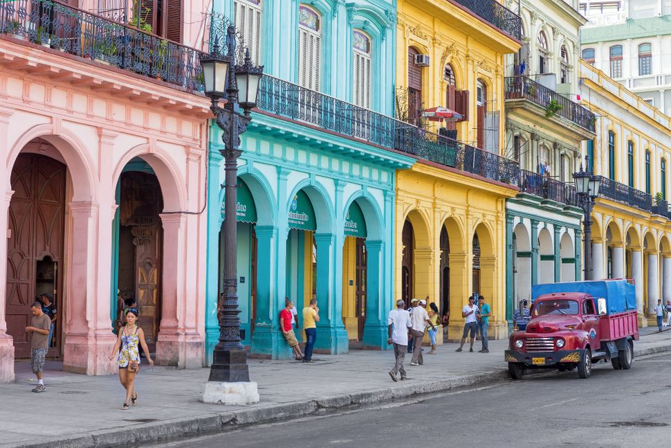 "In January of this year, the Obama administration loosened <a href=""http://www.huffingtonpost.com/2015/01/15/cuba-travel-vaca"