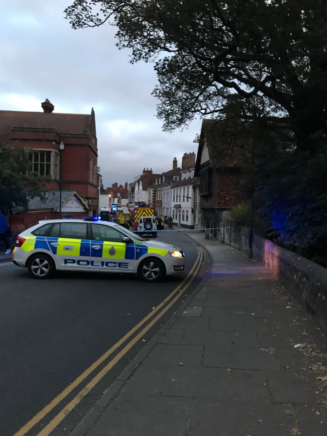Novichok Ruled Out After Two People Fall Ill In