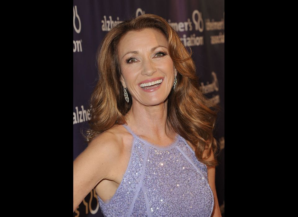 Seymour at A Night at Sardi's in 2012, marking the 20th anniversary of the Alzheimer's Association.