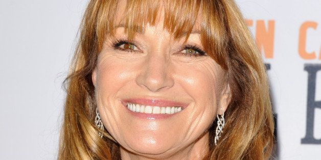 WEST HOLLYWOOD, CA - NOVEMBER 11:  Actress Jane Seymour attends the premiere of the film 'Glen Campbell...I'll Be Me' at Pacific Design Center on November 11, 2014 in West Hollywood, California.  (Photo by Michael Tullberg/Getty Images)