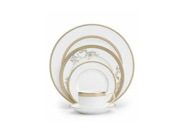 The dishwasher LOVES to eat away at gold coloring. Keep these dishes out of there!