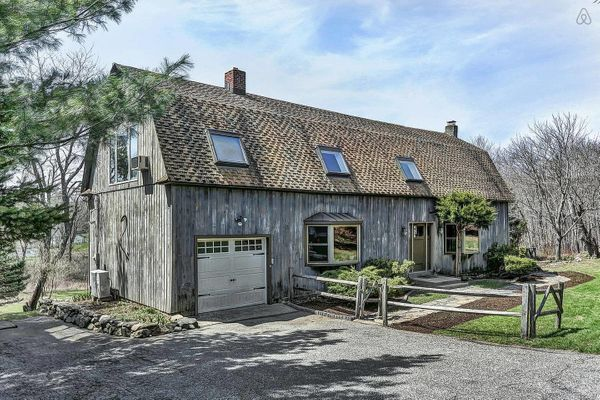 """Escape the city life and unwind at this spacious country barn house conversion,"" the property's listing reads.<br>  <strong>"