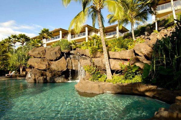This property features a 19-foot waterfall, swiming grotto and two whirlpool spas.<br>  <strong>City:</strong> Kihei<br> <str