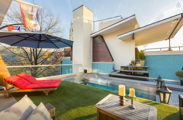 "The owner describes this property as ""the coolest house in D.C."" It has a heated pool, pool table, poker table and other swan"