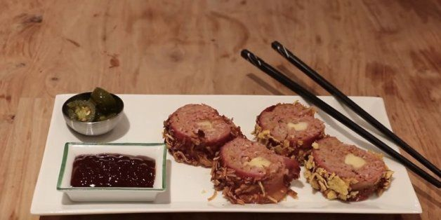 Attention Carnivores: Meat 'Sushi' Wrapped In Bacon Can Be Yours