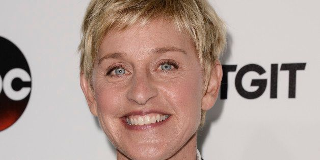 Television host Ellen DeGeneres attends the ABC TGIT Premiere at Palihouse on Saturday, Sept 20, 2014 in West Hollywood, Calif. (Photo by Dan Steinberg/Invision/AP Images)
