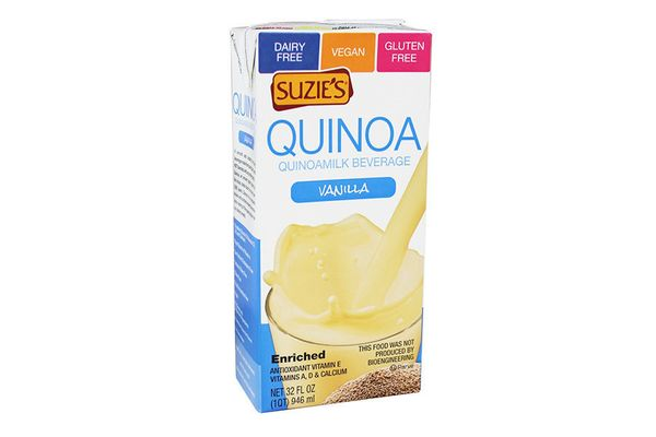 <strong>Taste: </strong>Quinoa milk might be harder to find than other dairy alternatives, but it's becoming increasingly tre