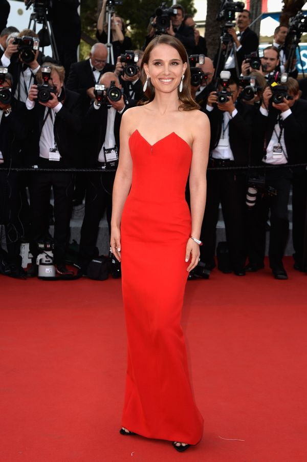 <strong>Natalie Portman in Christian Dior Couture:</strong> Simple, clean and modern are a few words that come to mind when w