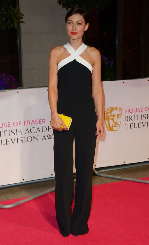 <strong>Emma Willis in Roland Mouret: </strong> This is the perfect outfit for the BAFTA TV Awards after-party. The English t