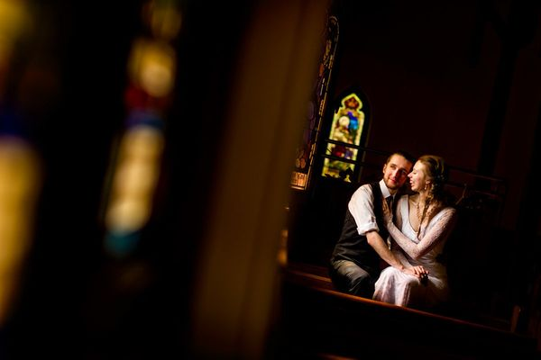 """""""We had the great honor of photographing Sarah and David's wedding in Montreal."""" - Brian Di Croce"""