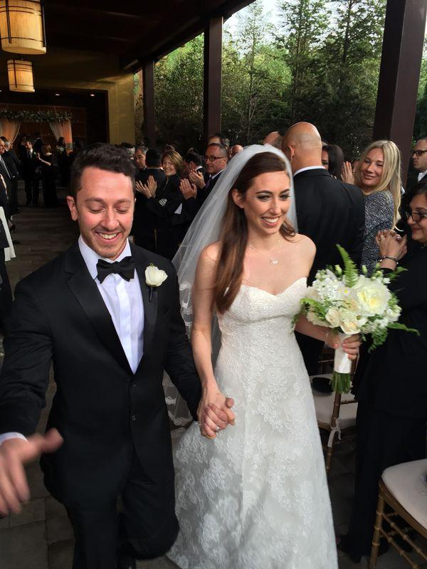 """""""Greg Schwartz marries Megan Weiss in Warren, New Jersey."""" - Evan Couri"""
