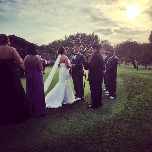 """Had the pleasure of DJing this great wedding yesterday!"" - DJ Keelez"