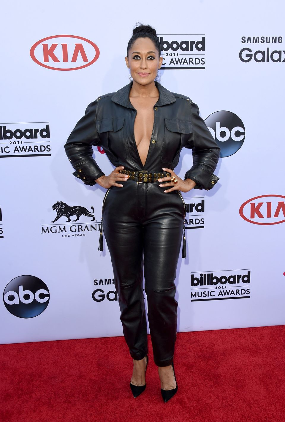 LAS VEGAS, NV - MAY 17:  Actress Tracee Ellis Ross attends the 2015 Billboard Music Awards at MGM Grand Garden Arena on May 1