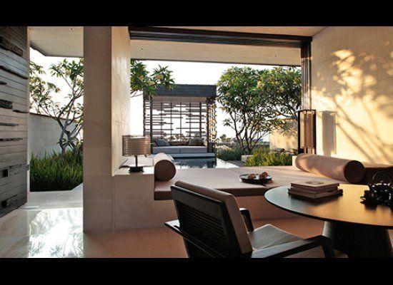 Bed down at Bali's most seductive cliff top hideaway, the Alila Villas Uluwatu hotel—it's the perfect escape for those who li
