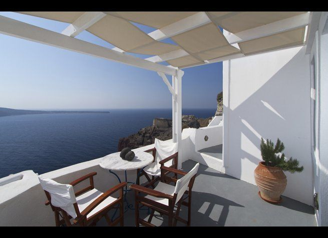<em>Photo Credit: Courtesy of Esperas Santorini</em>  Where: Greece  Some of the best sunset views in Santorini can be fo