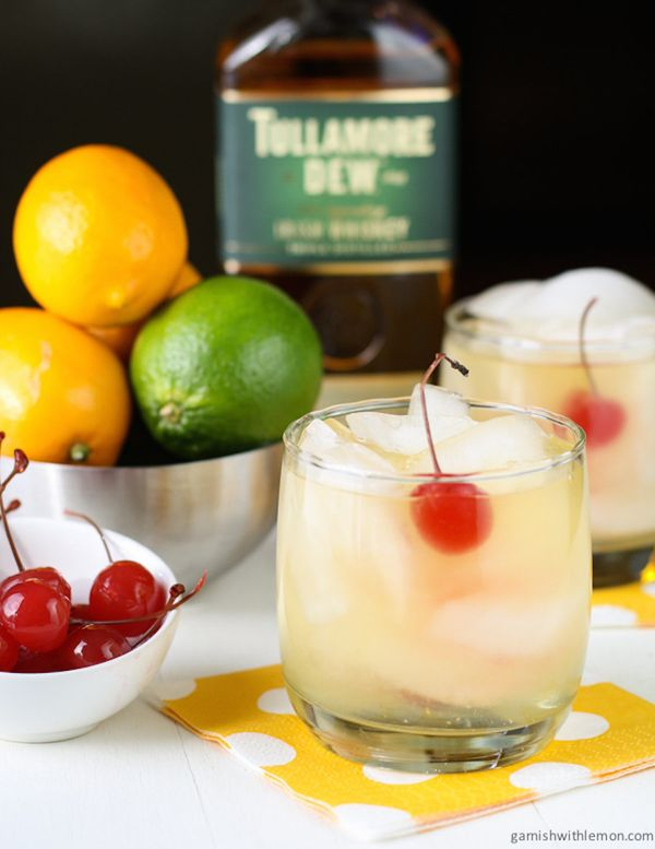 "<strong>Get the <a href=""http://www.garnishwithlemon.com/meyer-lemon-whiskey-sours/"" target=""_blank"">Meyer Lemon Whiskey Sour"