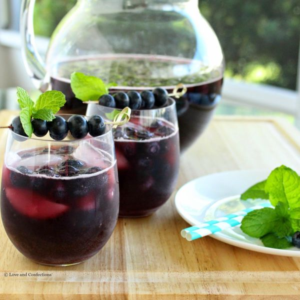 "<strong>Get the <a href=""http://www.loveandconfections.com/2015/05/blueberry-sangria-brunchweek.html"" target=""_blank"">Blueber"
