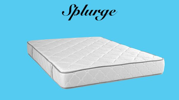 """""""You spend a third of your life sleeping,"""" says Griffin, """"so it behooves you to buy the best mattress and box spring you can"""
