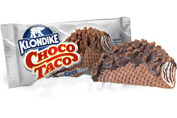 Greatest taco that ever was, but not the greatest ice cream treat.