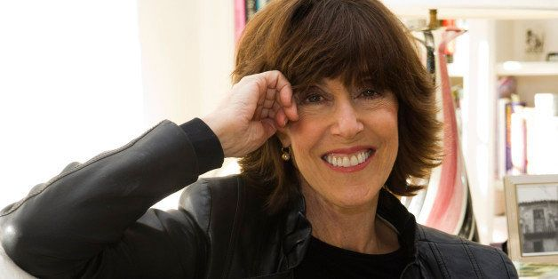 FILE - This Nov. 3, 2010 file photo shows author, screenwriter and director Nora Ephron at her home in New York. Publisher Al