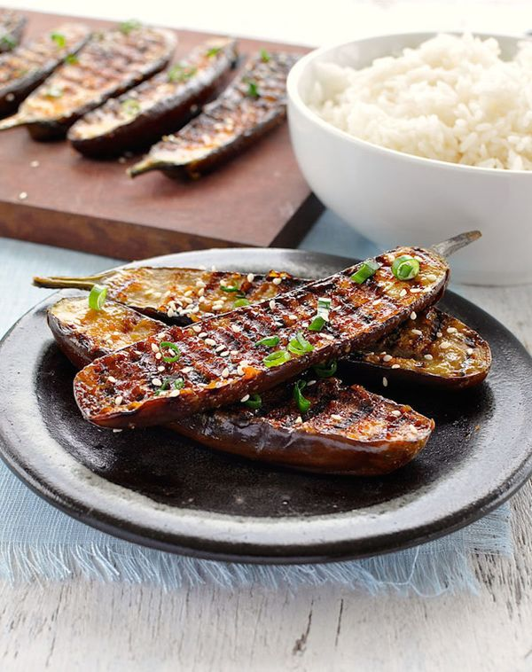 """<strong>Get the <a href=""""http://www.recipetineats.com/grilled-miso-glazed-japanese-eggplant/"""" target=""""_blank"""">Grilled Miso Gl"""