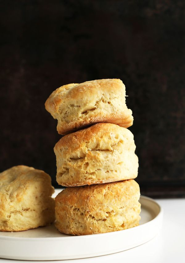 """<strong>Get the <a href=""""http://minimalistbaker.com/vegan-biscuits-and-gravy/"""" target=""""_blank"""">Vegan Biscuits recipe</a> from"""