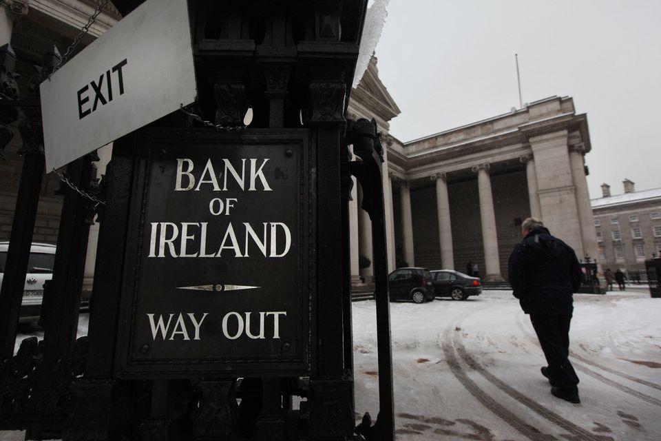 Economics rank: 36th Experience rank: 30th Raising children rank: 24th  <em>A man walks into the Bank of Ireland on December