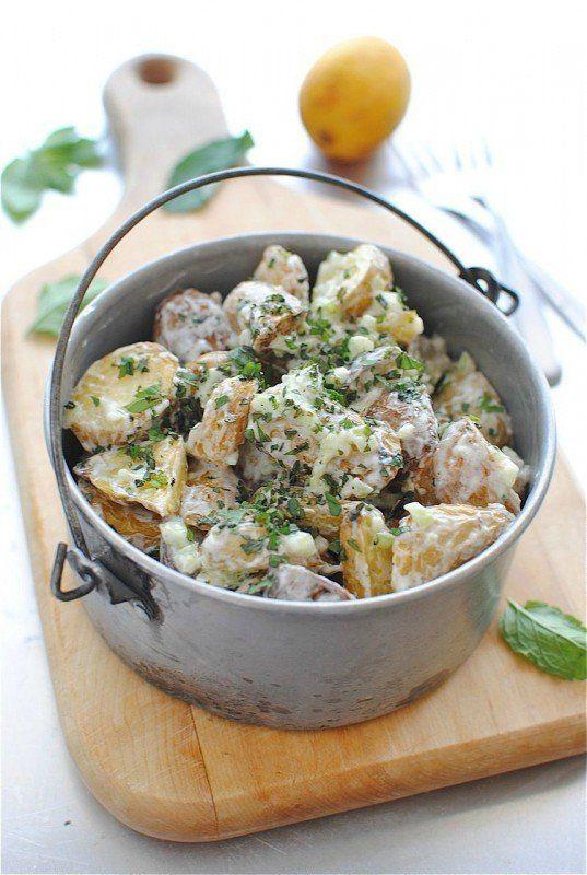 "<strong>Get the <a href=""http://bevcooks.com/2012/07/lemony-roasted-potato-salad/"" target=""_blank"">Lemony Roasted Potato Sala"