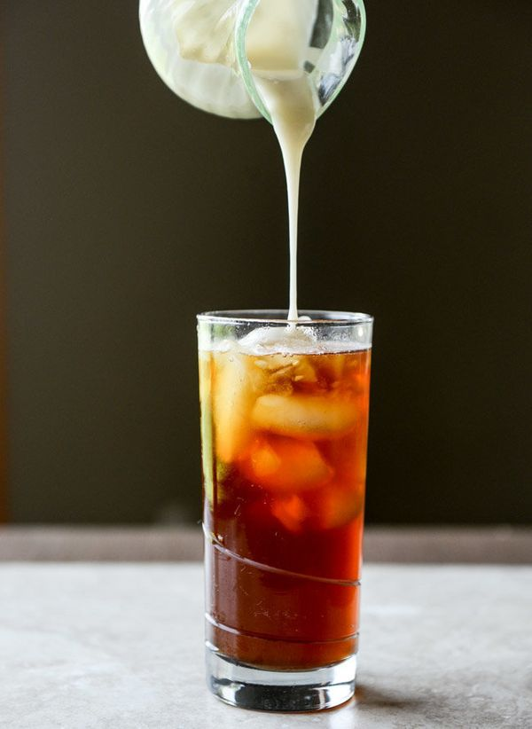 "<strong>Get the <a href=""http://www.howsweeteats.com/2015/05/homemade-sweetened-condensed-coconut-milk-for-iced-coffee/"" targ"