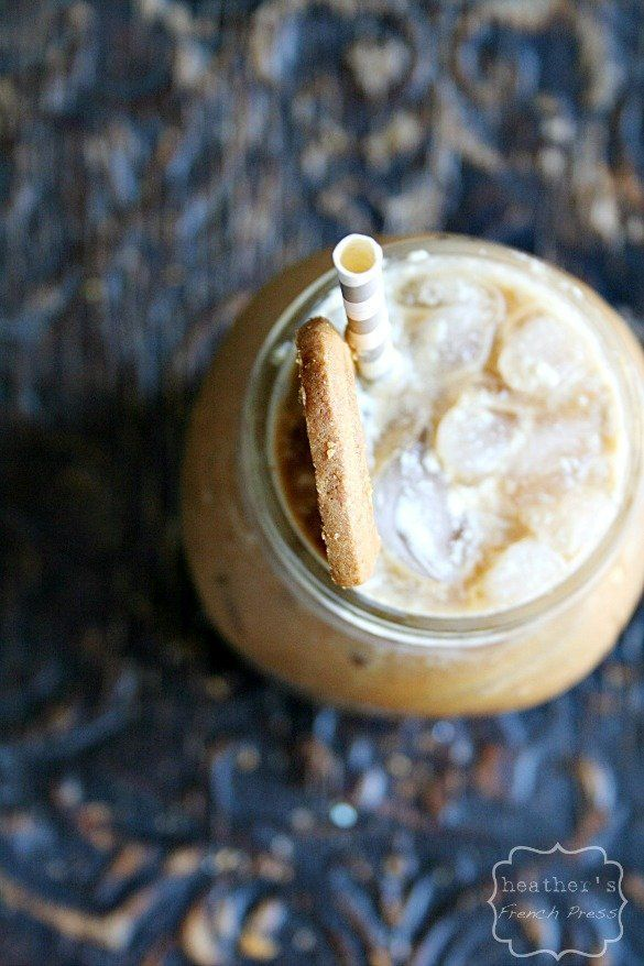 "This is not a joke.<strong>Get the <a href=""http://www.heathersfrenchpress.com/2013/07/cold-brewed-biscoff-iced-latte.html"" t"