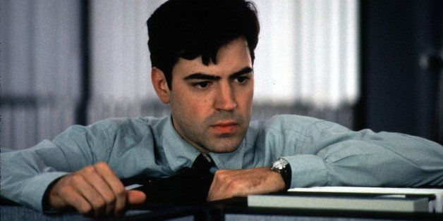 Ron Livingston Stars As A Computer Programmer Who Cannot Endure Another Day Of The Mind-Numbing, Soul Sucking Petty Annoyances That Assault Him Day After Day At Work, In A Twentieth Century Fox New Release 'Office Space'.  (Photo By Getty Images)