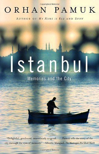 """An Istanbul native paints a portrait of his city ... and himself. See more <a href=""""http://www.amazon.com/Istanbul-Memories-C"""
