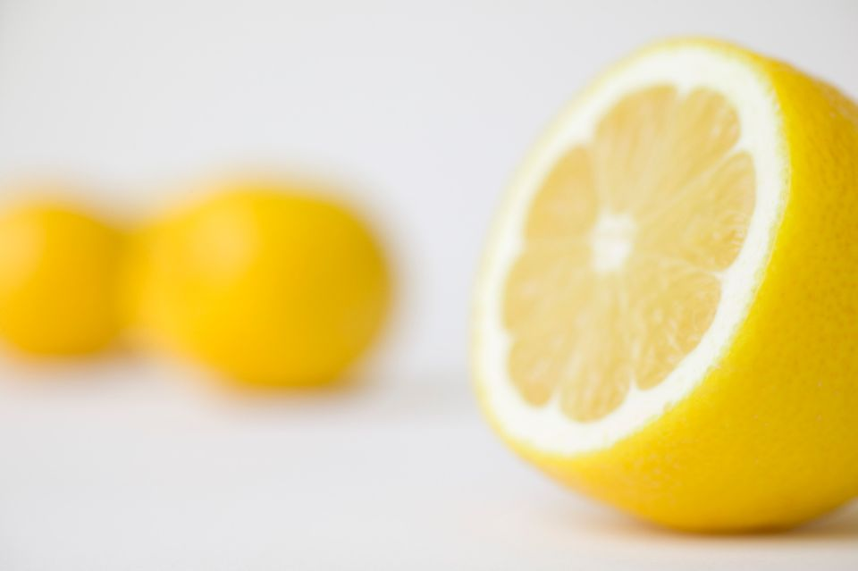 <strong>TRUE</strong>: A truly green alternative, lemons are a great way to safely remove water stains from glass and chrome