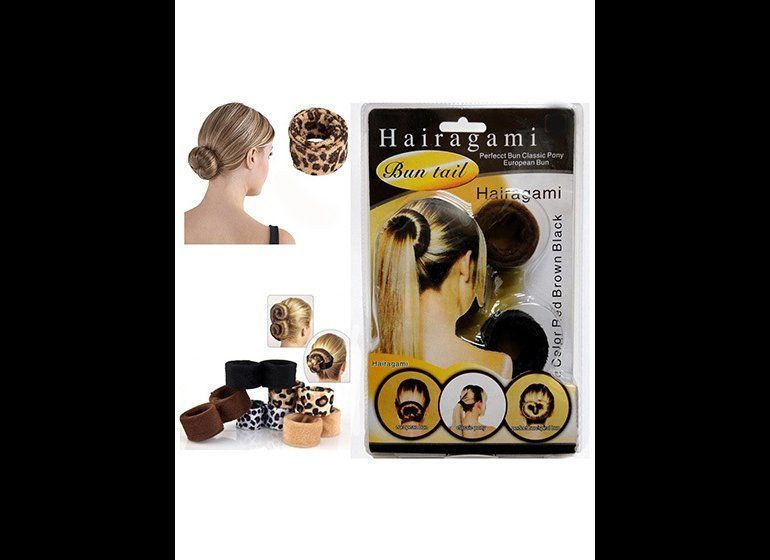 Hairagami Basically Velour Covered Slap Bracelets These As Seen On Tv Snap Tools Were Supposed To Make Elegant Updos A Breeze Just Fold Wrap And
