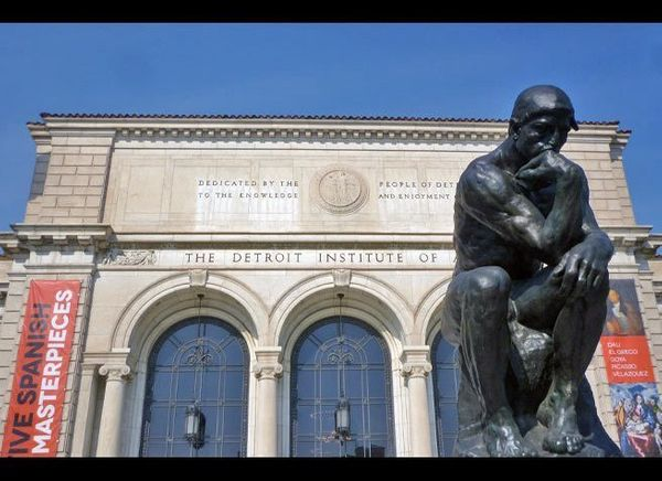 <em>Photo Credit: Detroit Institute of Arts - Thinker (1) by Attribution-ShareAlike License</em><br> <br> Where: Detroit, Mic