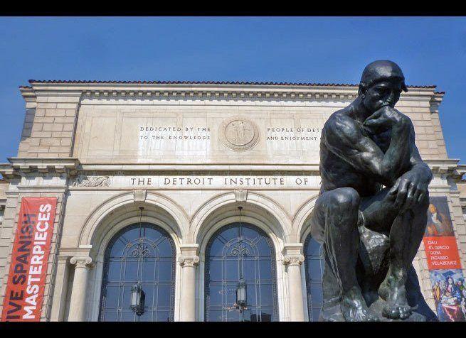 <em>Photo Credit: Detroit Institute of Arts - Thinker (1) by Attribution-ShareAlike License</em><br><br> Where: Detroit, Mich