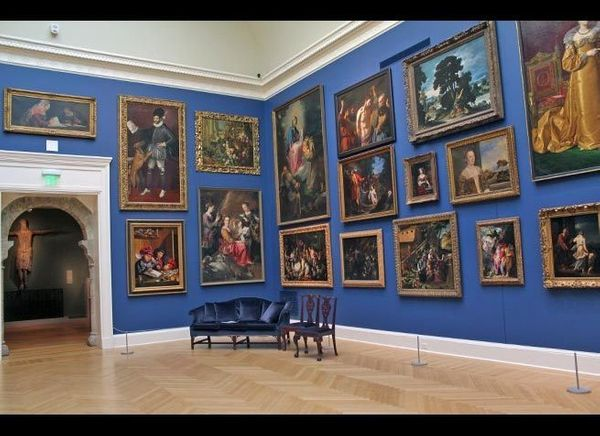 <em>Photo Credit: Main Gallery (European Paintings) by Daniel DeCristo Attribution-NonCommercial License</em><br> <br> Where:
