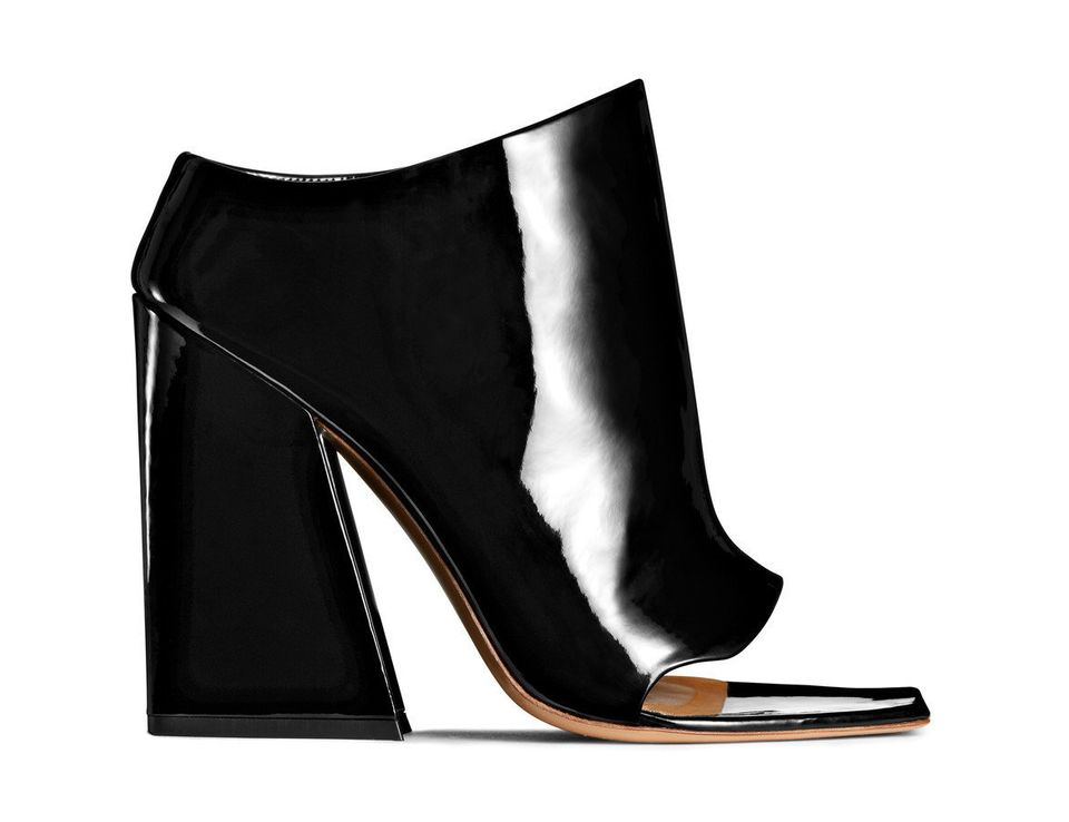 """$977.48. Available at <a href=""""http://www.acnestudios.com/shop/women/shoes/indi-black.html#product-image-zoom-0"""">AcneStudios."""