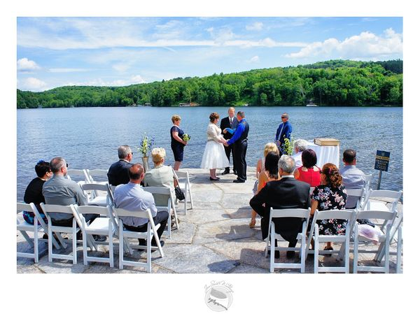 """Gorgeous 15-person wedding on Saturday in Ontario, Canada."" - Jennifer Colborne"