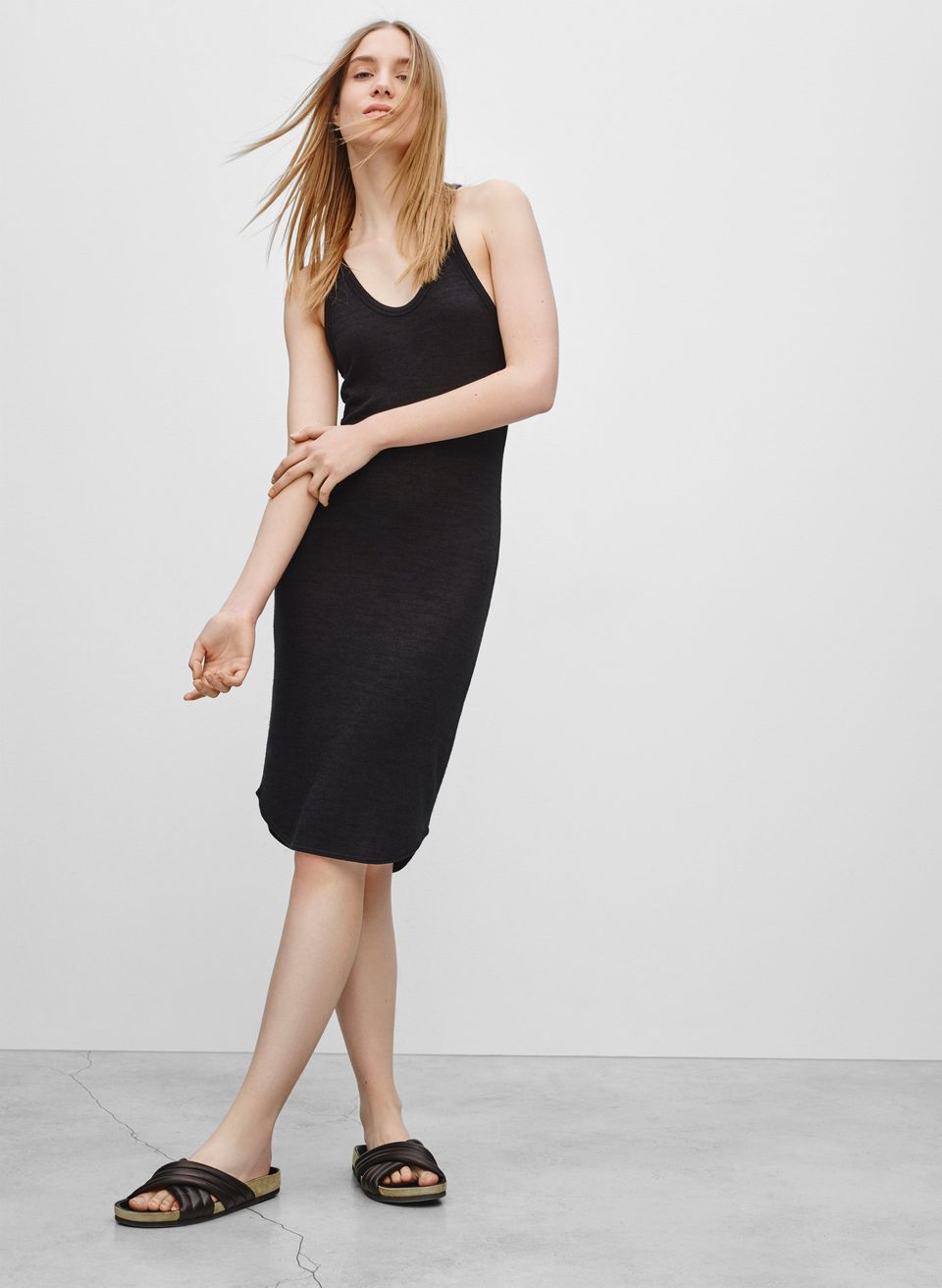 "$60. Available at <a href=""http://aritzia.com/en/product/yasmin-dress/48388.html?dwvar_48388_color=1274"" target=""_blank"">Arit"