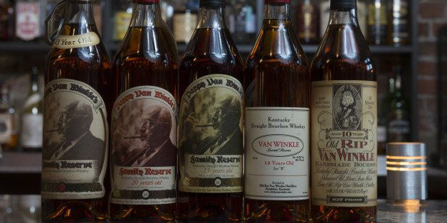 WASHINGTON, DC- OCTOBER 08: Photos for a story about the popularity of Pappy Van Winkle Bourbon, it's very expensive and quite hard to find  photographed at Jack Rose Dining Saloon in Washington, D.C. on October 08, 2014.   (Photo by Marvin Joseph/The Washington Post via Getty Images)