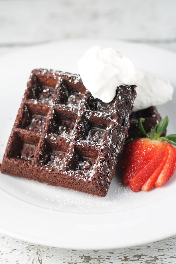 """Waffles more your thing? Don't let anything stop you. <br><br><strong>Get the <a href=""""http://thekrave.com/double-chocolate-w"""