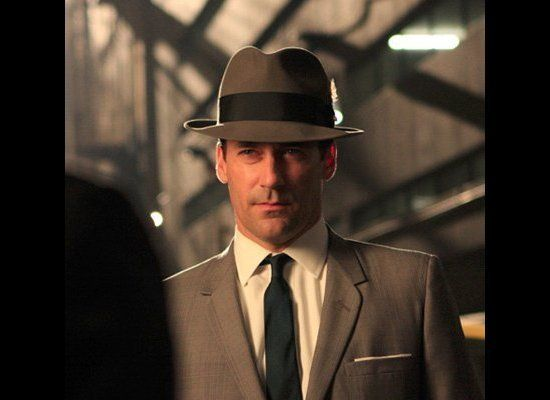 A man in a hat just looks so cool. Not to mention polished and confident.