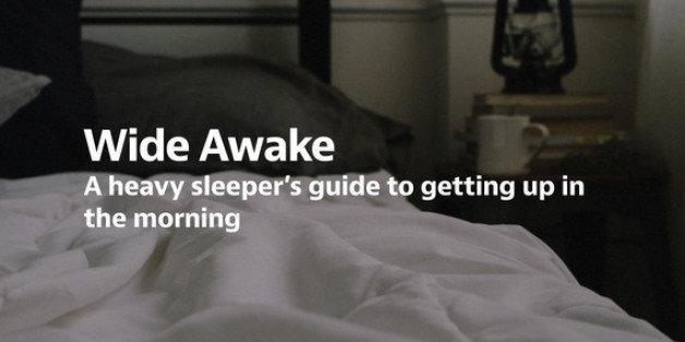 Best way to wake up a heavy sleeper
