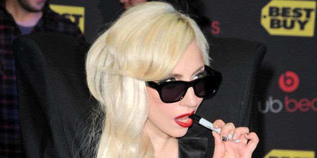 lady gaga at a signing for the...