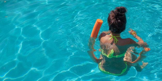 swimming Teen pool girls