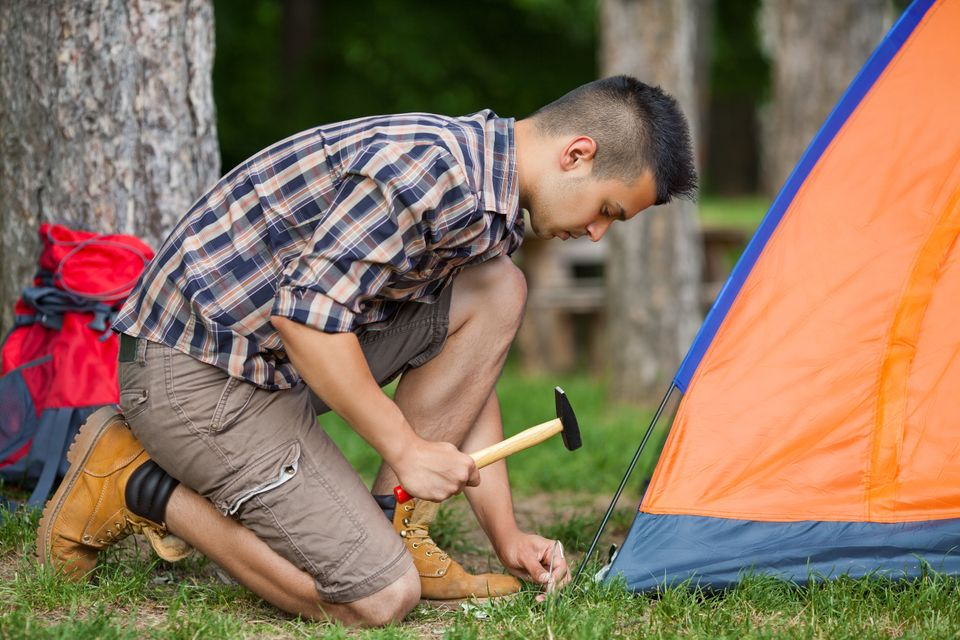 Practice makes perfect, and this also goes for your tent. If you buy a new tent this year, practice putting it up at least on